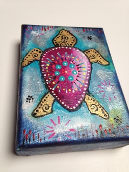 Painting of Turtle
