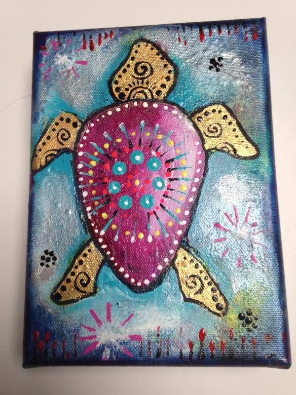Turtle Painting